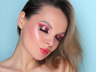 Как использовать красные тени: нескучный макияж глаз