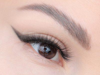 Как рисовать стрелки тенями: урок макияжа