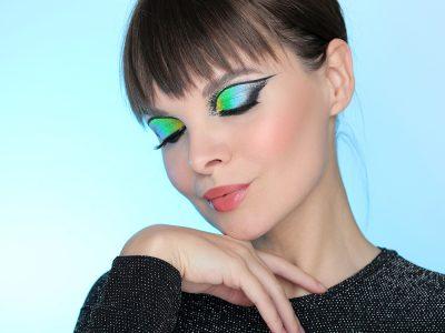 Как сделать необычный макияж глаз