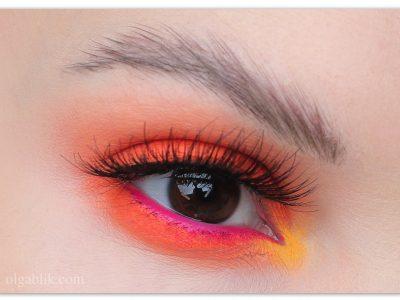 Как сделать оранжевые тени: лайфхаки визажистов