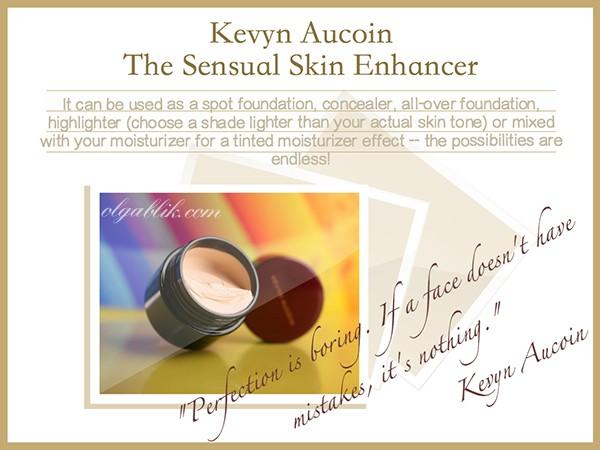 Kevyn Aucoin The Sensual Skin Enhancer. Развеиваем мифы о сверхспособностях.