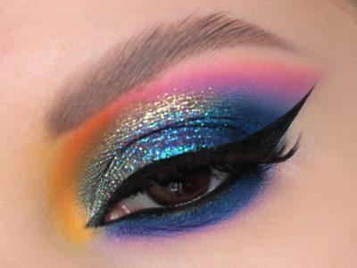 Клубный макияж 2021 – идея яркого образа