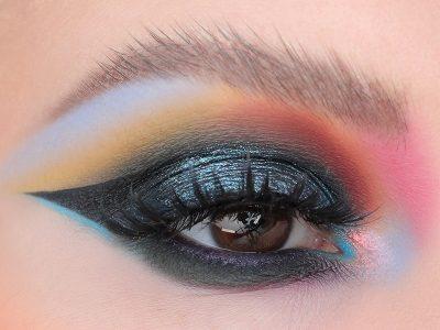 Креативный макияж глаз без границ