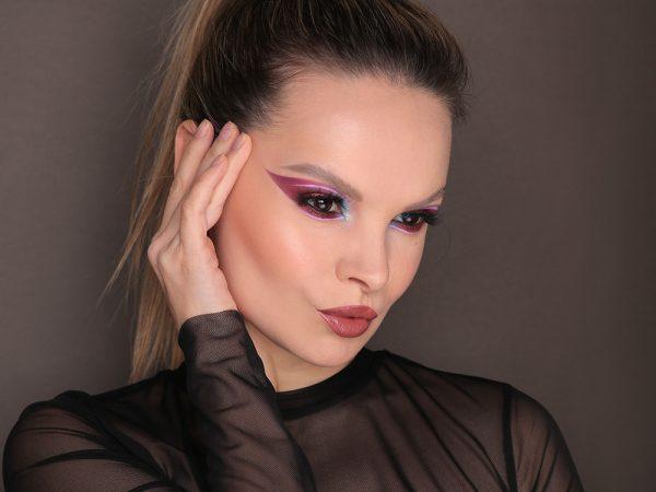 Креативный макияж на Новый год: образ 2021
