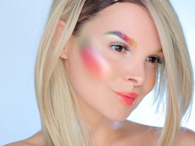 Креативный макияж: пошаговая схема нанесения