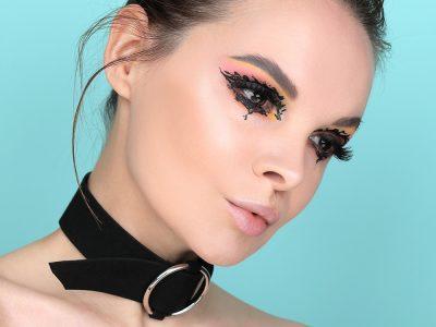 Креативный макияж: колючие стрелки