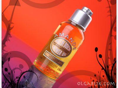 Loccitane Almond Shower Oil: отзывы на масло для душа Миндальное