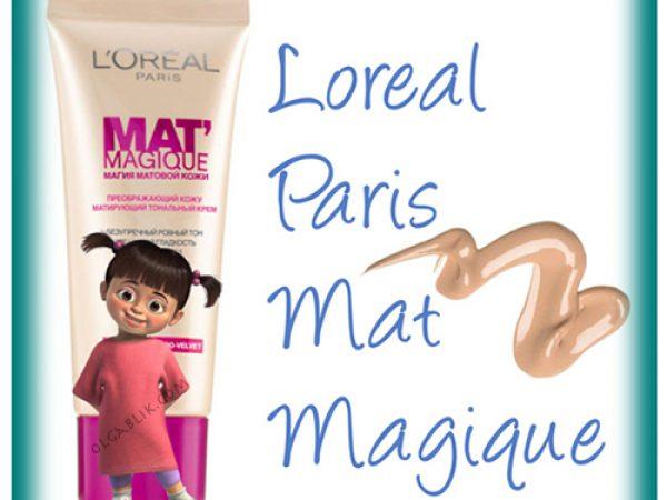 Тональный крем L'Oreal Paris Mat Magique: отзывы и фото