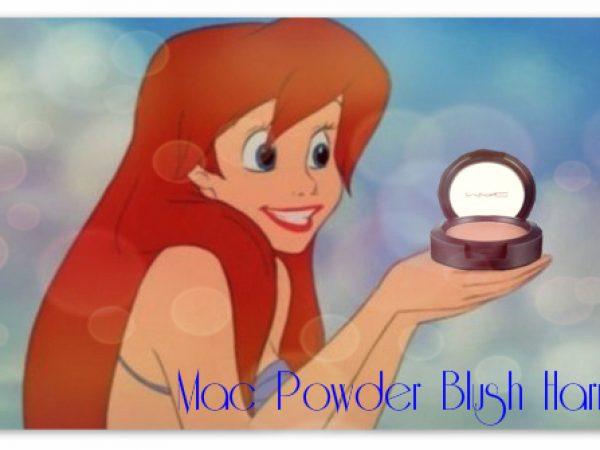 Румяна НЕ для скульптурирования лица Mac Powder Blush Harmony!