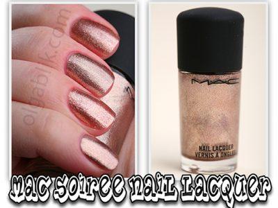 MAC Soiree Nail Lacquer: отзывы на лак для ногтей от МАК