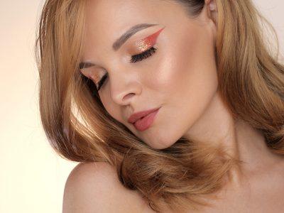 Осенний макияж: золотая осень