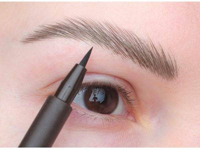 Как правильно красить брови фломастером для бровей