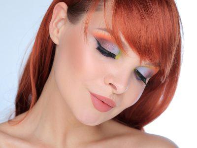 Макияж для рыжих волос и карих глаз – образ дня