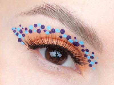 """Макияж глаз с точками: расставляем точки над """"И"""""""