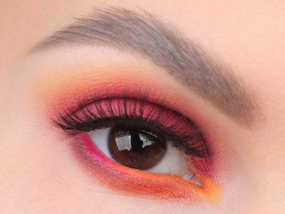 Макияж Смоки Айс с розовыми тенями: пошаговый фото-урок
