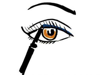 Стрелки на глазах – 6 правил и 6 ошибок