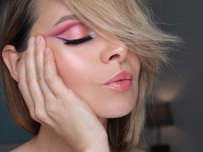 Макияж в розовых тонах: нежный образ