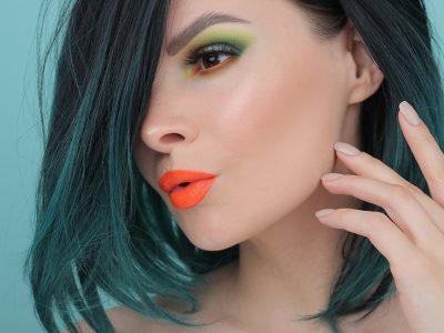 Пошаговый макияж в зеленых тонах: фото-инструкция