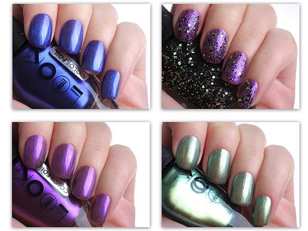 Лак для ногтей nailLOOK ColorFOIL – отзыв и фото