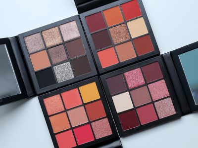 Huda Beauty Obsessions Eyeshadow Palettes – отзыв, свотчи, фото