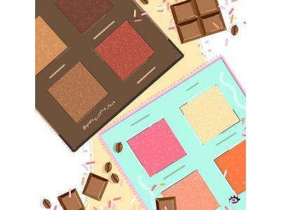 Палетки для макияжа лица 2019: весенние новинки косметики!