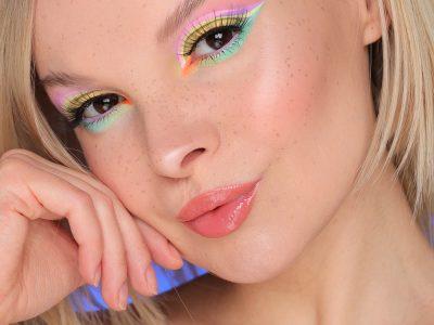 Как обыграть пастельные цвета в макияже глаз