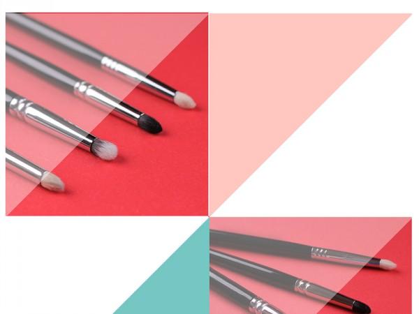 Кисть-карандаш: Hakuhodo, MAC, Zoeva, Sigma
