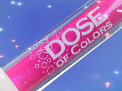 Блеск для губ Dose of Colors Lip Gloss – отзыв, фото, свотчи