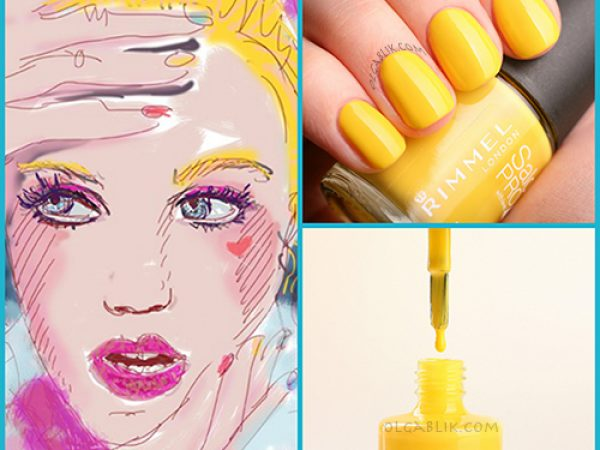 Лак для ногтей Rimmel London – Spring Yellow: отзывы и фото