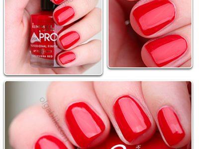Лак для ногтей Rimmel Lycra Pro – Riviera Red: отзывы