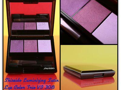 Shiseido Luminizing Satin Eye Color Trio: отзывы на тени для глаз