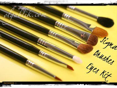 Набор кистей для макияжа Sigma Beauty Basic Eye Brush Kit: отзывы