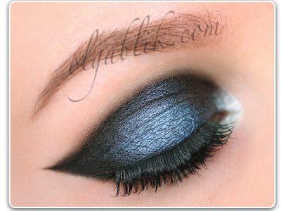 Как сделать вечерний графичный макияж – пошаговая схема