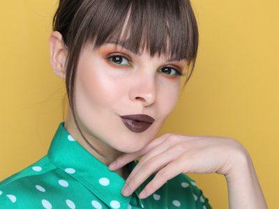 Свежий макияж для карих глаз: образ дня