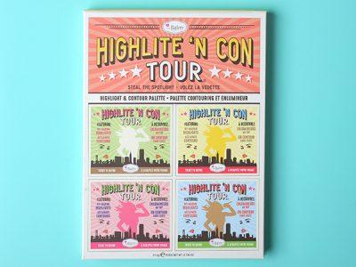 Палетка theBalm Highlite 'N Con Tour Highlight & Contour Palette