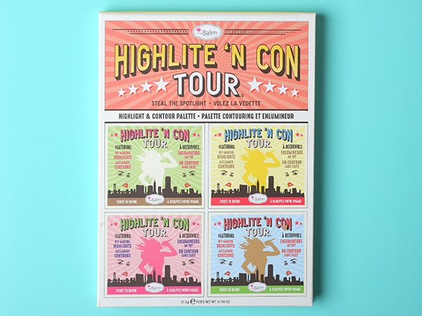 Палетка theBalm Highlite 'N Con Tour Highlight & Contour Palette