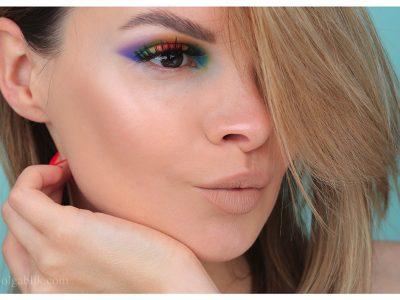 Цветной макияж 2019: радужный день!