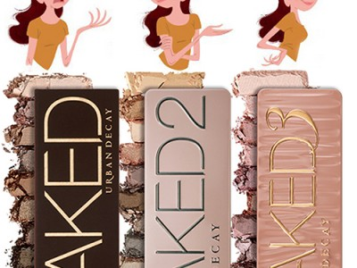 Urban Decay Naked 1 – Naked 2 – Naked 3 Palette – отзывы