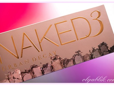 Urban Decay Naked 3 Palette – отзывы, фото, свотчи