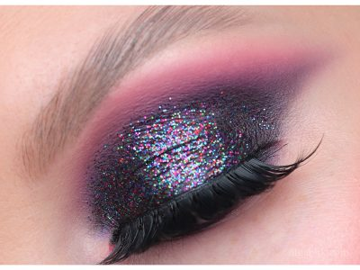 Вечерний макияж с блёсткам на глазах: ошибки нанесения