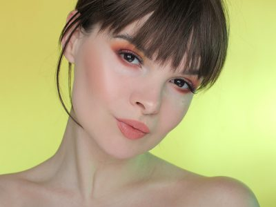 Макияж с оранжевыми тенями: с чем носить?