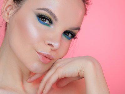 Зелёный макияж для карих глаз: выбор оттенков